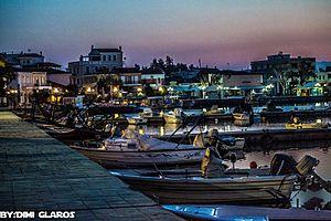 Aliveri - port of Aliveri Evias