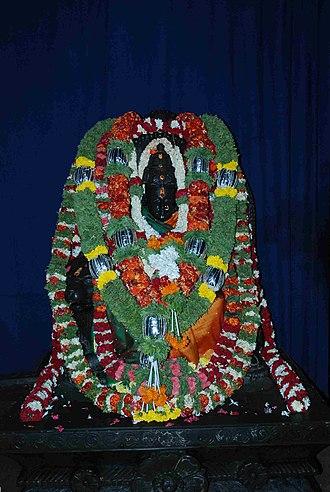 Chowdeshwari Temple - Image: Kariamma Devi