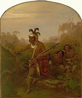 Billy Bowlegs - Chief Billy Bowlegs by Karl Ferdinand Wimar, 1861