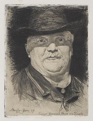 Karl Stauffer-Bern - Image: Karl Stauffer Bern Conrad Ferdinand Meyer 1887