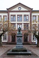 Karlsruhe, Skulptur -Ferdinand Redtenbacher- -- 2013 -- 5281.jpg