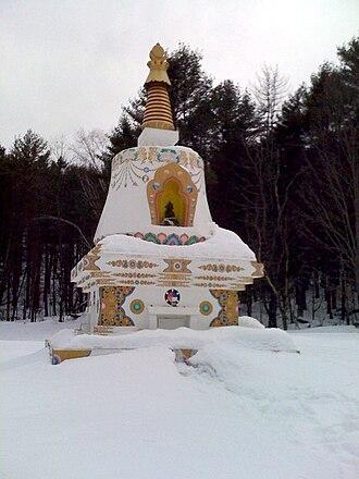 Chögyam Trungpa - Image: Karme chöling purkong