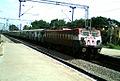 Karnataka Sampark kranti Express at Sitaphalmandi 01.jpg