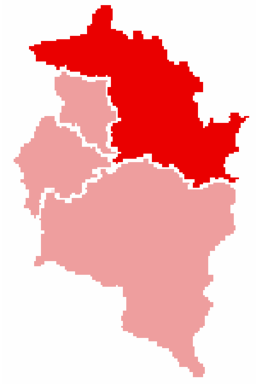 Bezirk Bregenz location map