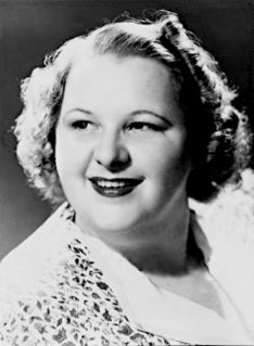 Kate Smith American singer