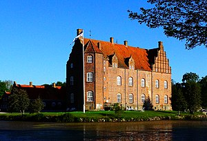 Katholm Castle - As seen from east - anno 2013