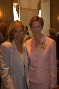 Katie Couric and Mary Perdue (8188610800).jpg