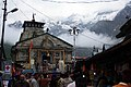 Kedarnath Temple with Snow Covered Mountains in Background.jpg