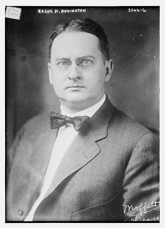 Federal League - Keene H. Addington of the Federal League circa 1915
