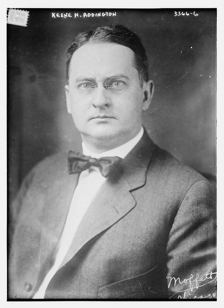 Keene H. Addington of the Federal League circa 1915