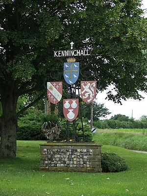 Kenninghall - Kenninghall village sign