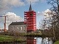 Kerk van Kootstertille in de stijgers.jpg