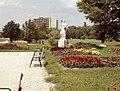 Keszthely 1968, Kocsis András szobra (1962). Fortepan 29050.jpg