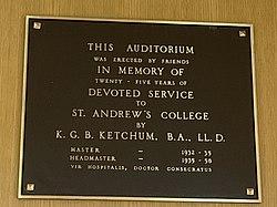 Ketchum Auditorium Plaque.jpg