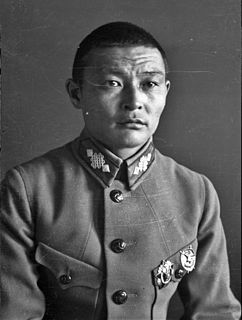 Mongolian politician