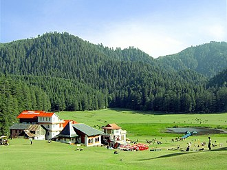 Hill station - Khajjiar, Himachal Pradesh, India