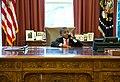 Kid President behind the Resolute desk (11665394364).jpg