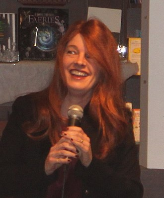 Kim Harrison - Harrison at a book-signing event for  A Perfect Blood, Ann Arbor, Michigan