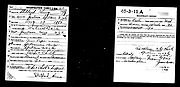 King, Stoddard WW1 draft card