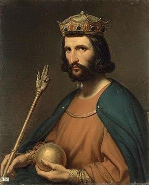 Charles de Steuben - Image: King Hugh Capet