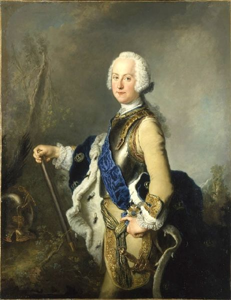 Portrait of Adolf Frederick by Antoine Pesne