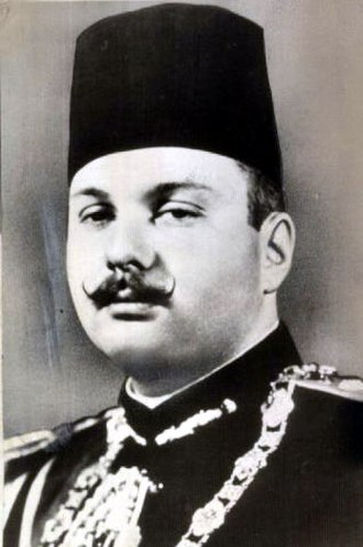 Farouk of Egypt - King Farouk I in military uniform
