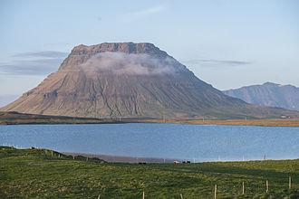 Grundarfjörður - Kirkjufell Mountain in Snæfellsnes in Iceland
