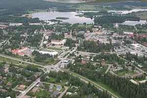 Kiuruvesi - Aerial photograph of Kiuruvesi