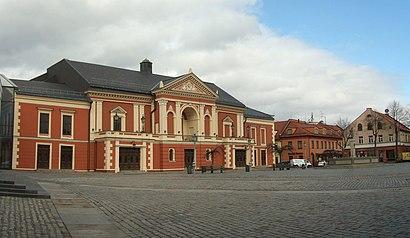 Kaip pateikti į Klaipėdos Dramos Teatras viešuoju transportu - Apie vietovę