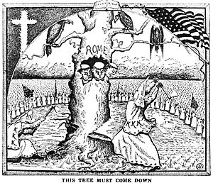 The Good Citizen - Branford Clarke illustration in The Ku Klux Klan In Prophecy 1925