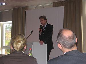 Klaus Schnellenkamp - Presentation by Klaus Schnellenkamp in Göttingen © 2009