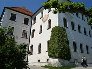 Herrenchiemsee - Herrenchiemsee monastery, today an art gallery