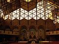 Kościół Matki Boskiej Częstochowskiej wnętrze os. Szklane Domy Nowa Huta Kraków.JPG