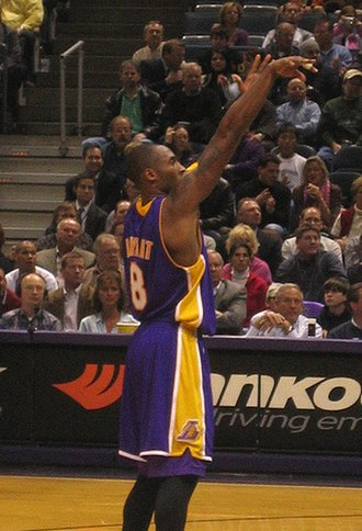 Rob Pelinka - Kobe Bryant shoots a free throw.