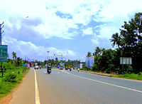 road in kollam