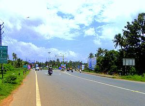 Roads in Kerala - NH-66 Kollam Bypass at Mevaram