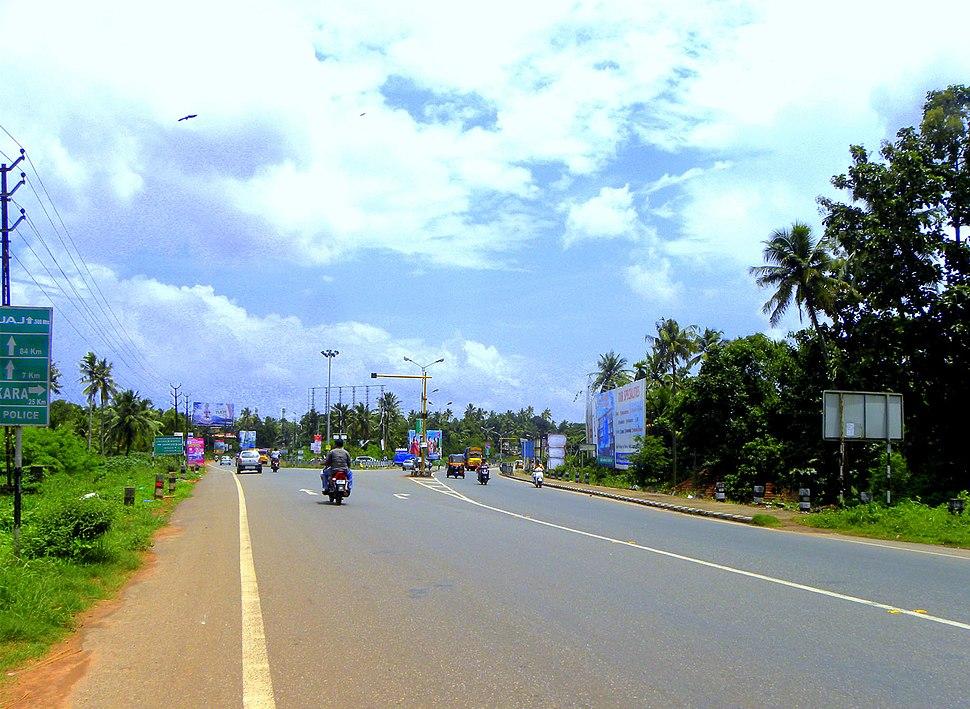 Kollam Bypass at Mevaram