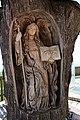 Kollmitzberg - ehemaliges Naturdenkmal AM-058 - hl Ottilie - von Ernst Adelsberger aus dem Stamm der Winterlinde geschnitzt.jpg