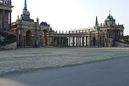 Am Neuen Palais in Potsdam