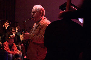 Konitz performing in 2007