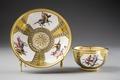 Kopp med fat. Neapel. Italien - Hallwylska museet - 86926.tif