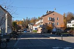 Kobberbjerges centrum ved Malmtorvet