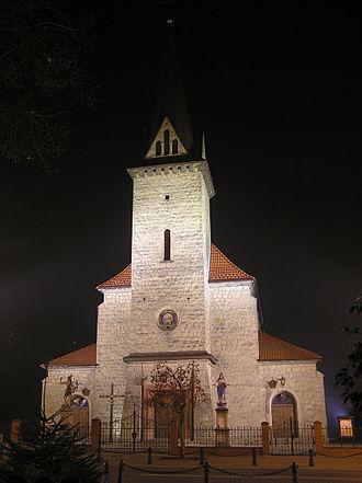 Dobczyce - Image: Kosciol dobczyce