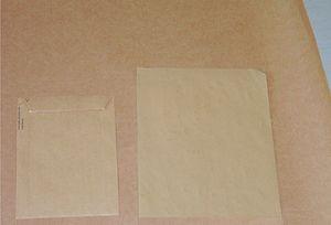 Kraft paper - A piece of kraft paper