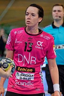Kristine Lunde-Borgersen Norwegian handball player