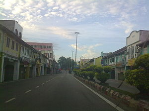 Kuala Pilah (town) - Kuala Pilah main road