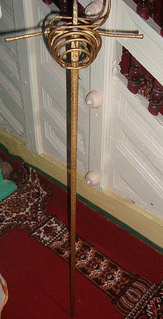 Kunjali Marakkar - The sword used by the last Kunjali Marakkar at the mosque at Kottakkal, Vatakara