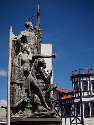 Kupe - Kupe Statue on the Wellington Waterfront