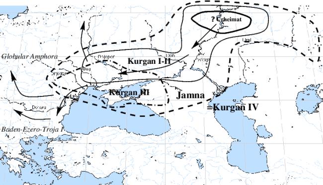 Kurgan map