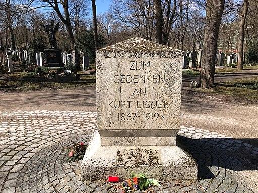 Kurt Eisner Gedenkstein Ostfriedhof